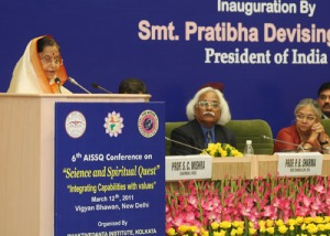 The President of India about 'Science and Spiritual Quest'